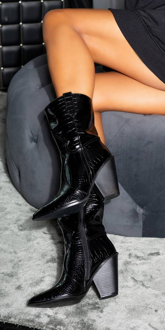 Sexy Western Ankle Boots