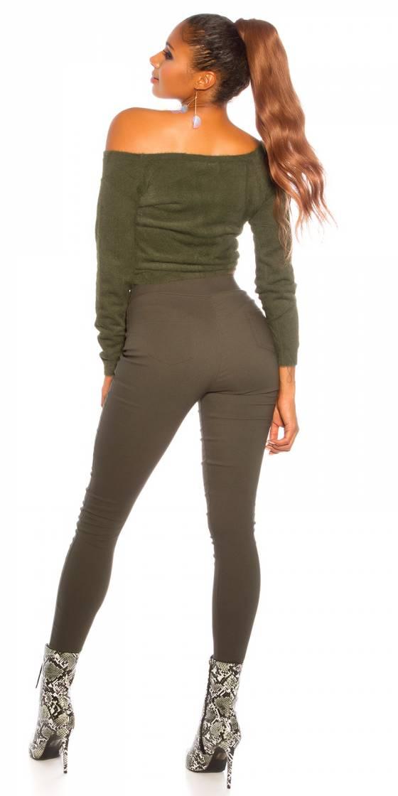 Pantalon sexy skinny taille...