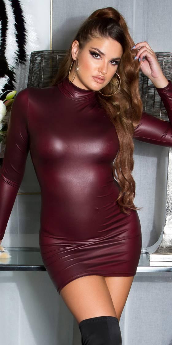 Robe sexy effet mouillé Koucla