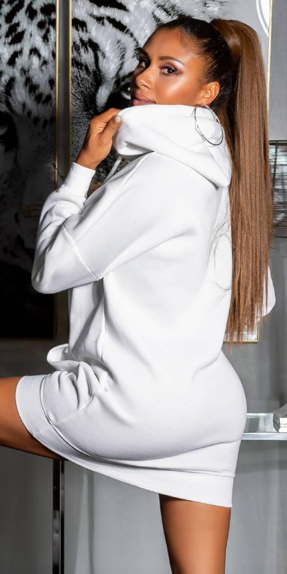 Sexy Sweatshirt Dress with...