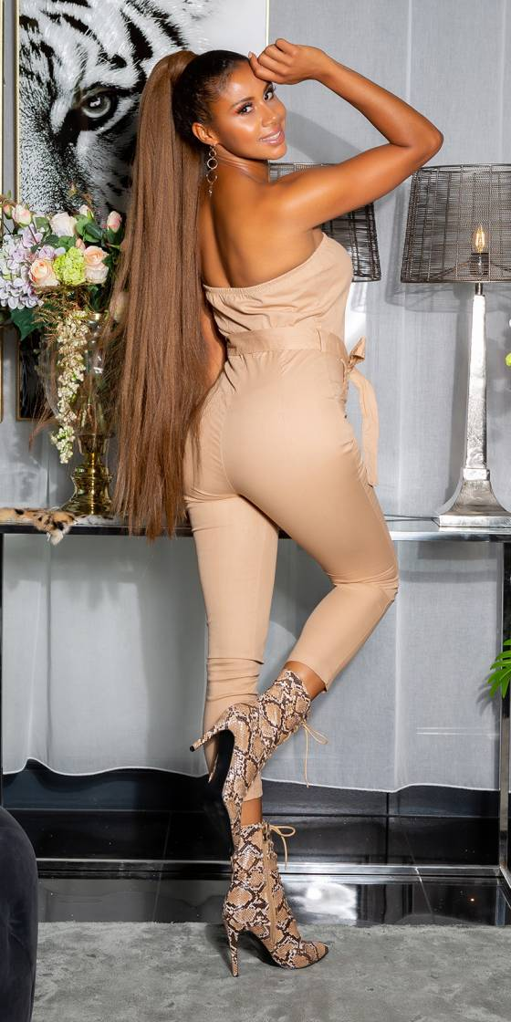 Sexy Bandeau jumpsuit with...