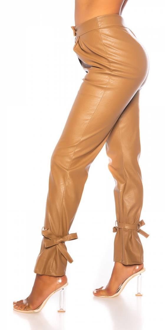Pantalon tendance taille haute