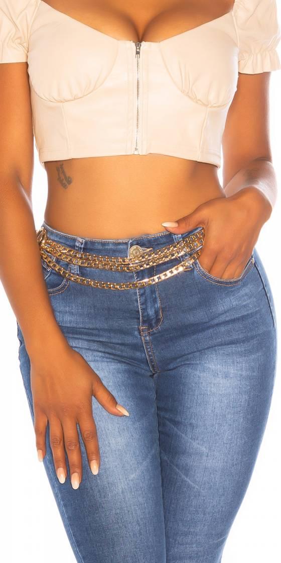 Sexy Triple Chain Belt