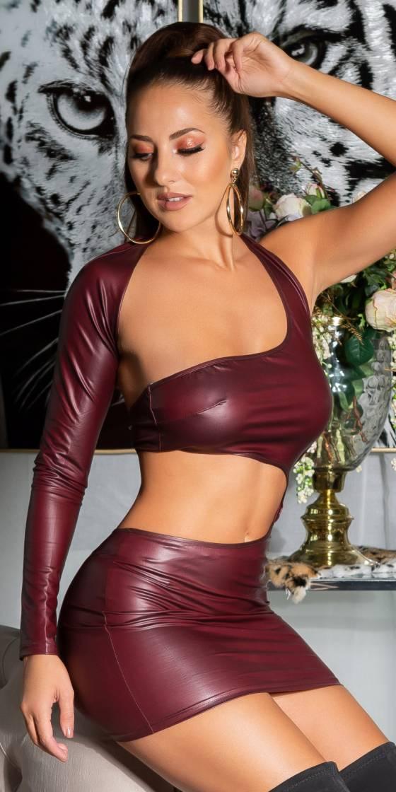 Robe asymétrique sexy