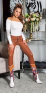 Pantalon skinny sexy en latex