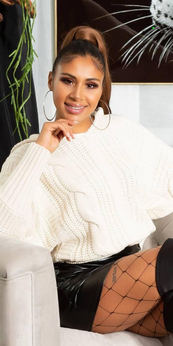 Trendy Koucla knit hoodie...