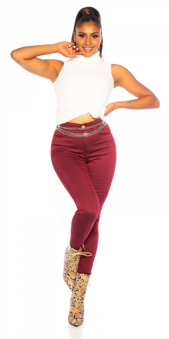 Jeans tendance skinny...