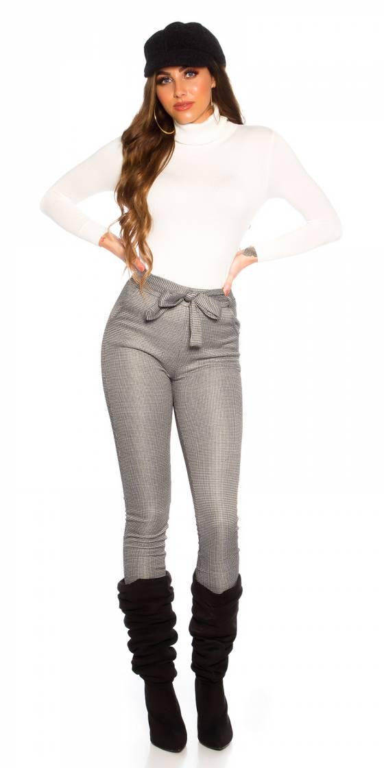 Pantalon ajusté sexy avec...