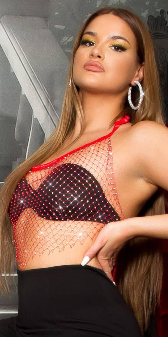 Sexy Koucla Net Top with...