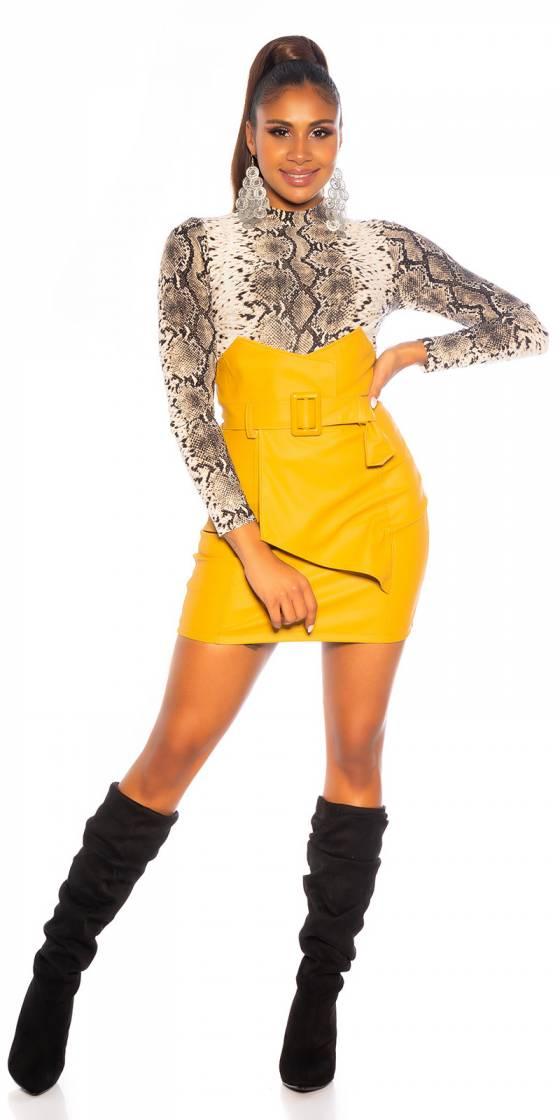 Mini jupe sexy taille haute...
