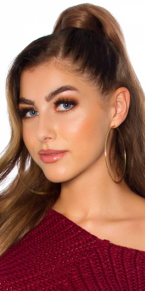 Sexy Classic Hoop Earrings Big
