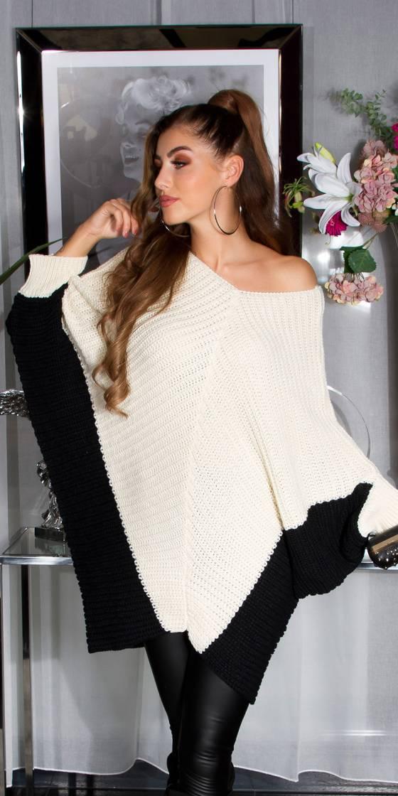 Trendy KouCla bat knit...