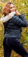 Veste d'hiver tendance avec capuche