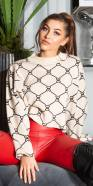 Sexy Oversize Croped Sweater
