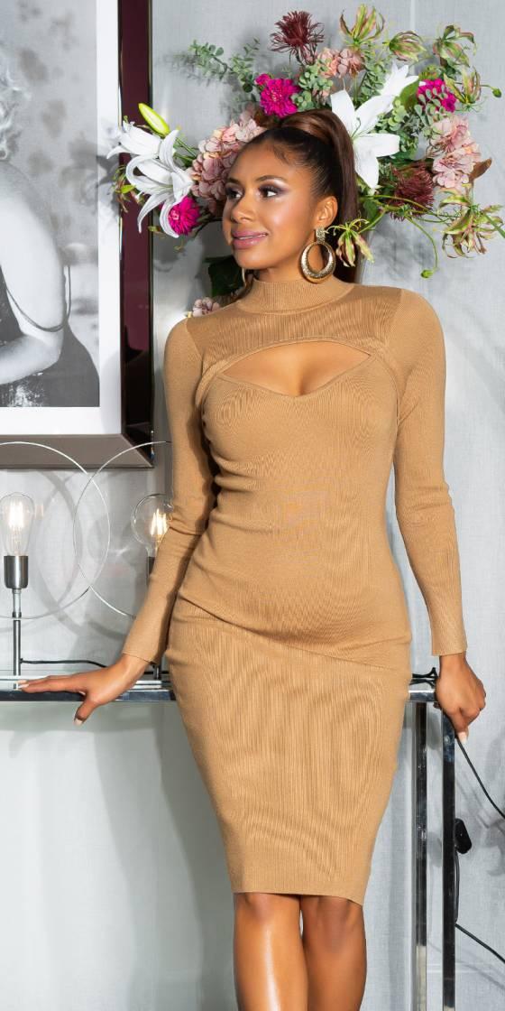 Sexy Midi Knit Dress