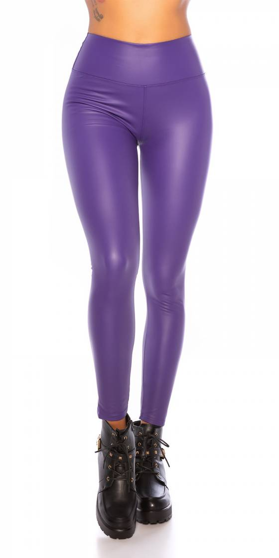 Sexy Wetlook Thermo Leggings