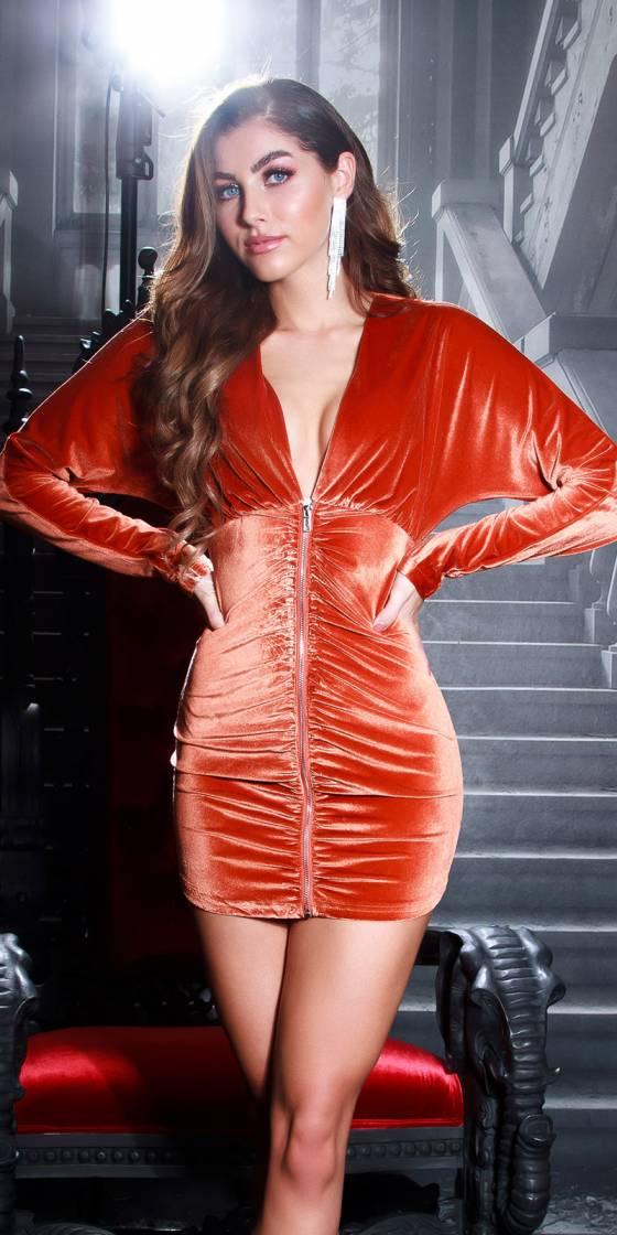 Sexy Koucla Velvet Dress...