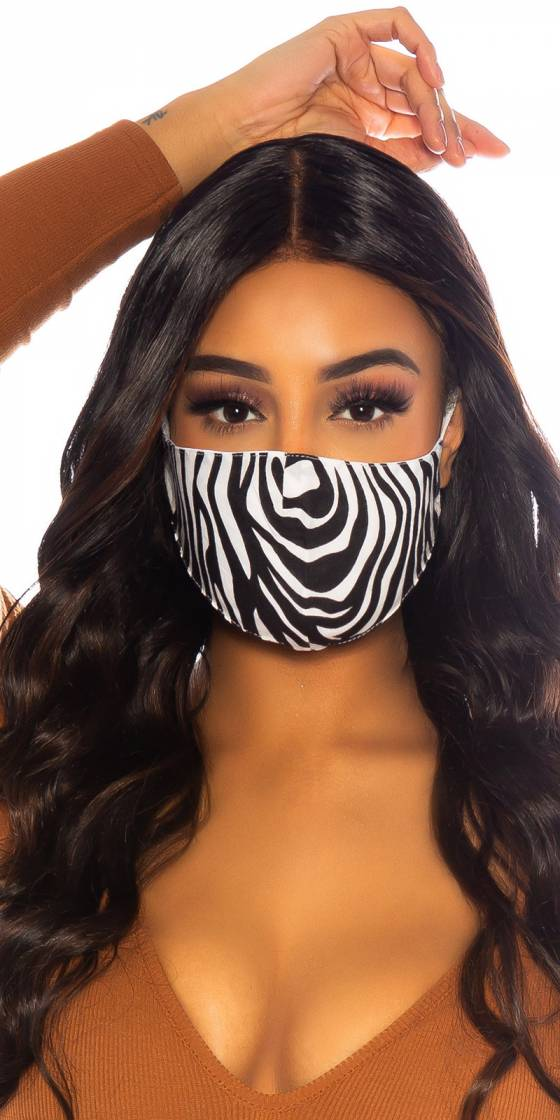 Trendy Face mask with print