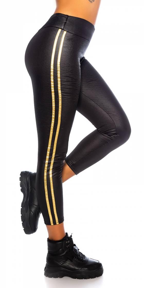Sexy Wetlook Leggings with...