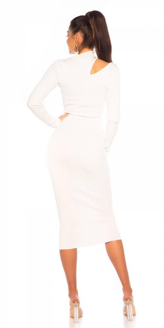 Combinaison fashion glamour LIAH couleur beige
