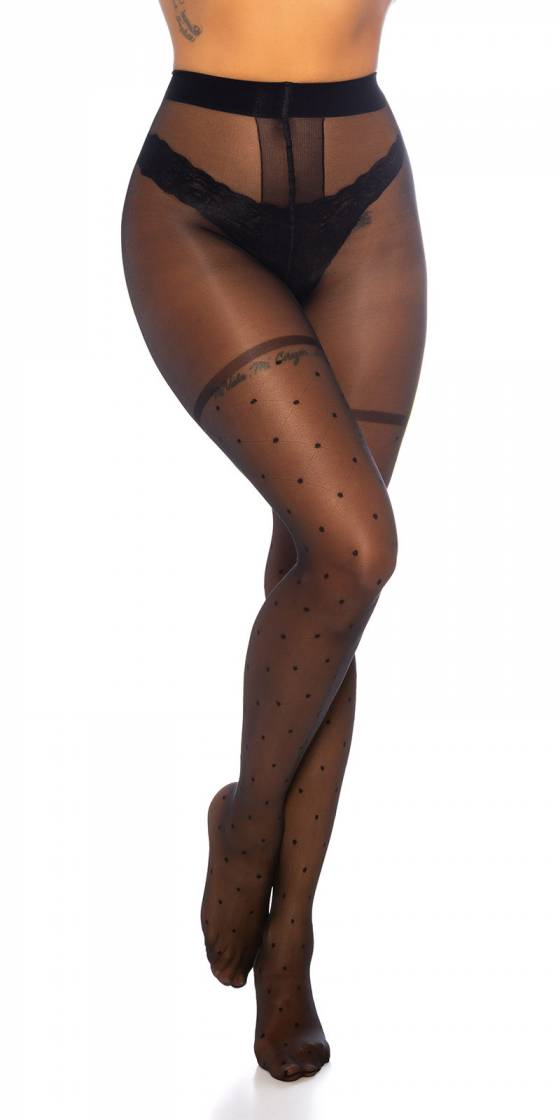 Trendy Pois- Pattern Tights