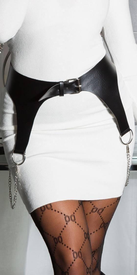 Sexy PU Leather Wide Belt...