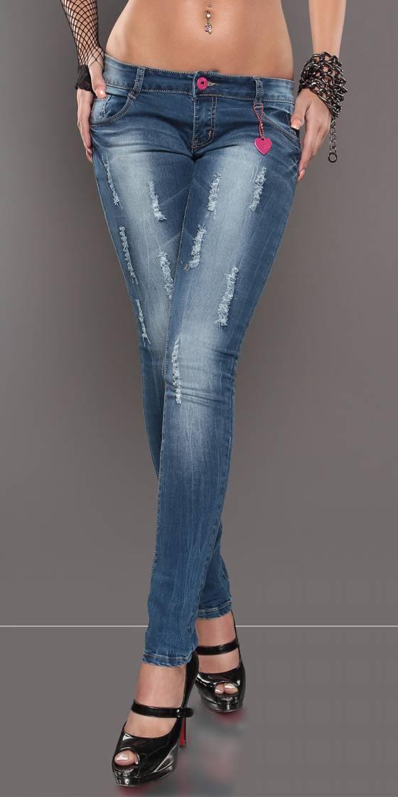 Short sexy tendance MELISSE couleur bleu jeans