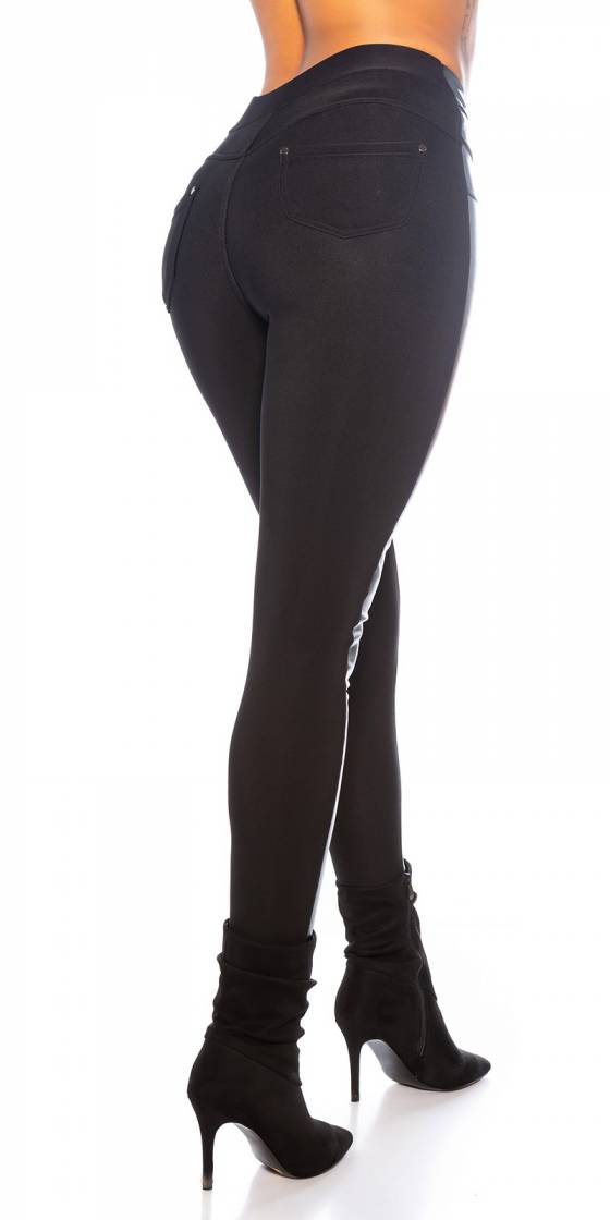 Robe femme sexy CAPUCINE couleur noir