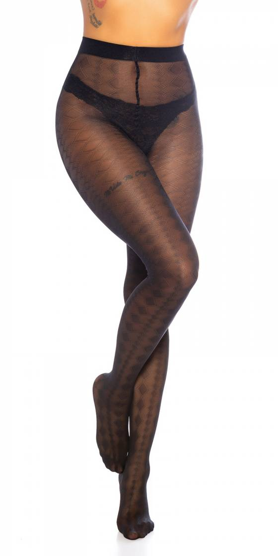 Trendy Tights Fine Diamonds