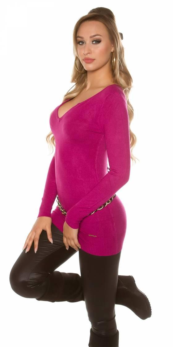 Jupe fashion tendance LENA avec ceinture couleur cappuccino