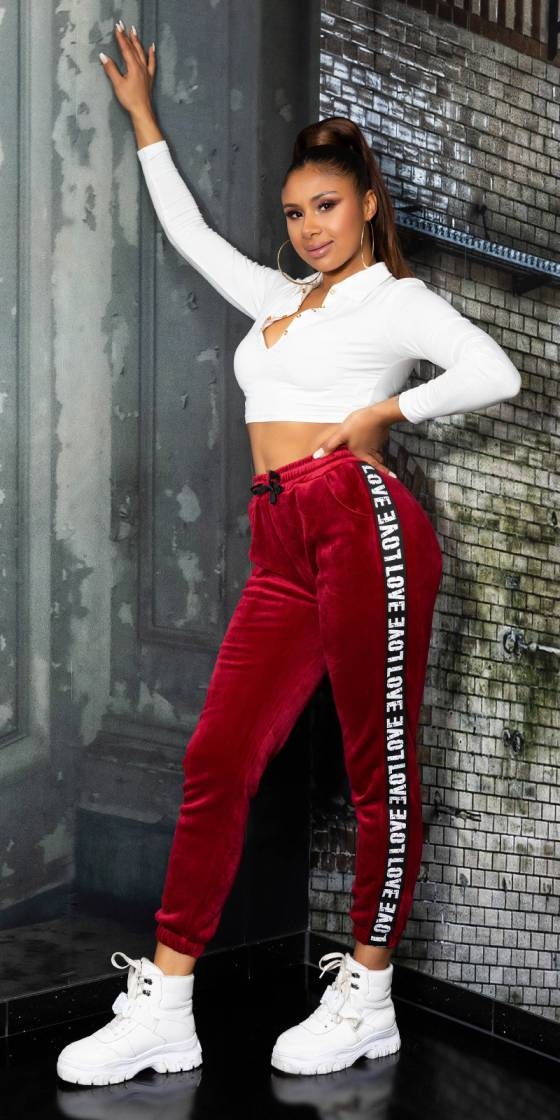 Pantalon de sport fashion LOVE