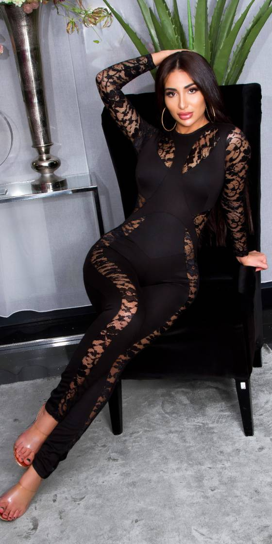 Sexy KouCla Catsuit with...