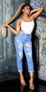Trendy Highwaist used look Mom Jeans