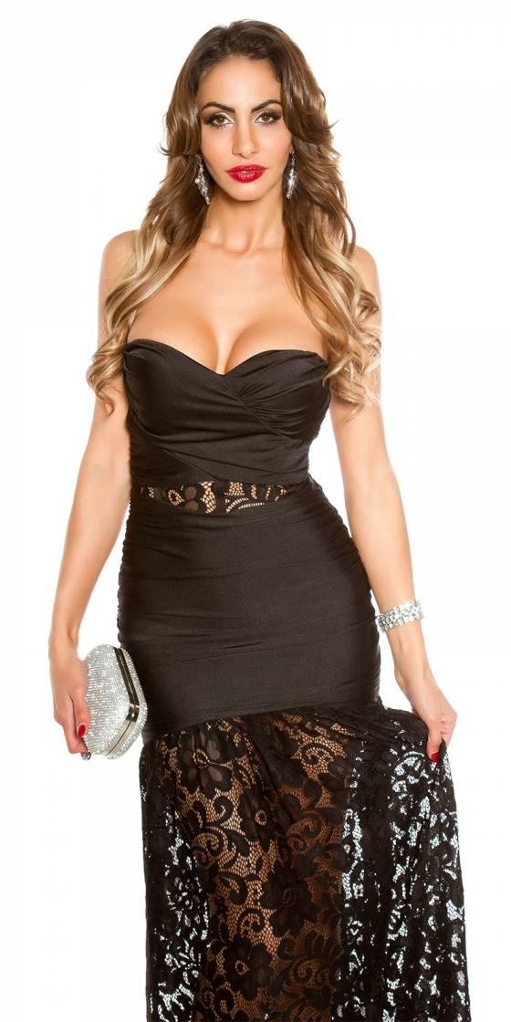Veste sexy tendance JOY couleur noir