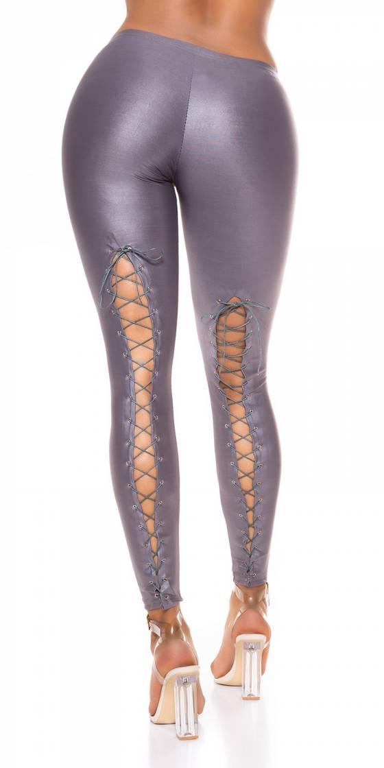 Leggings sexy effet mouillé...