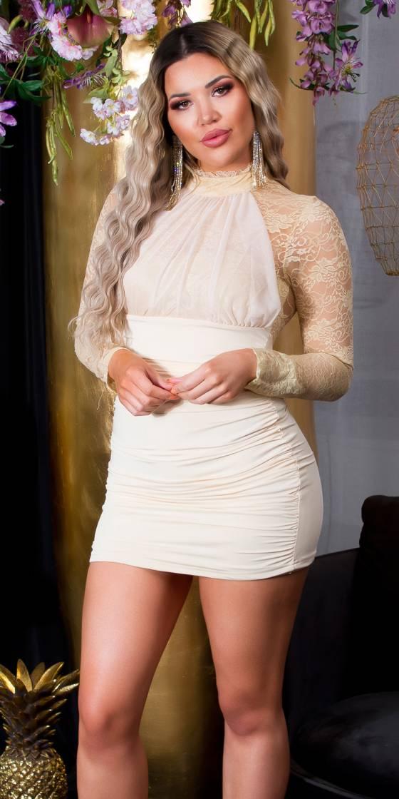 Mini-robe de soirée...