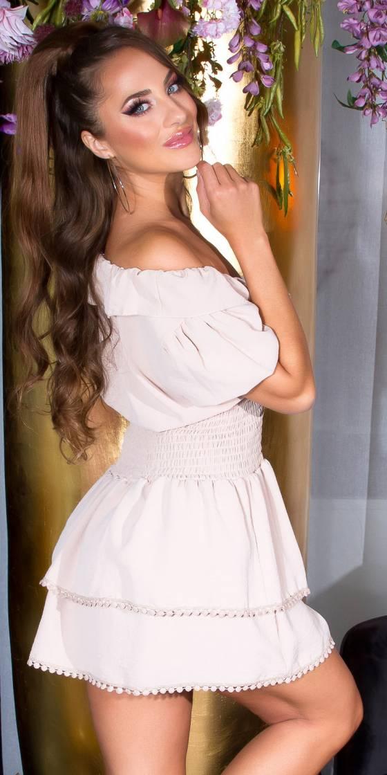 Sexy V-Neck Feminine Dress...