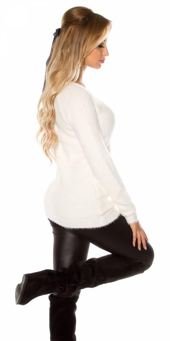 Robe femme sexy PERLA couleur blanc