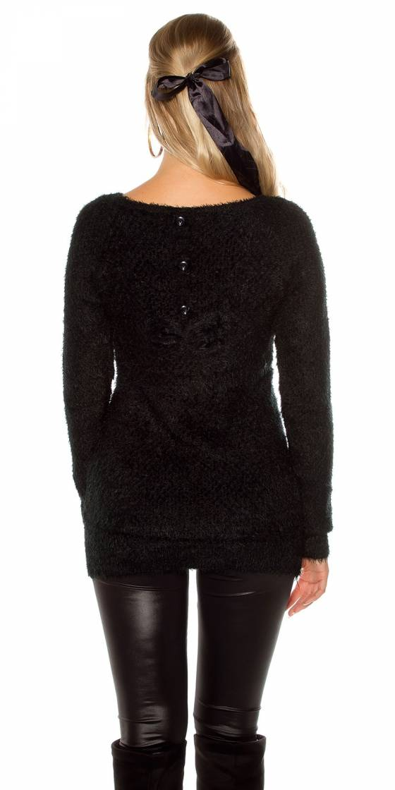 Trendy soft sweater with...