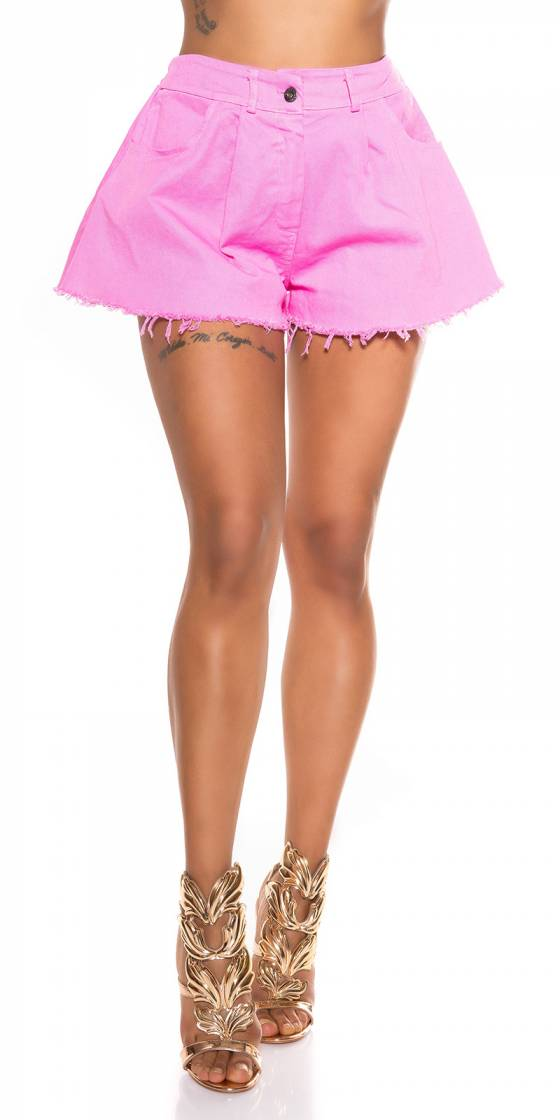 Sexy wide leg denim shorts...