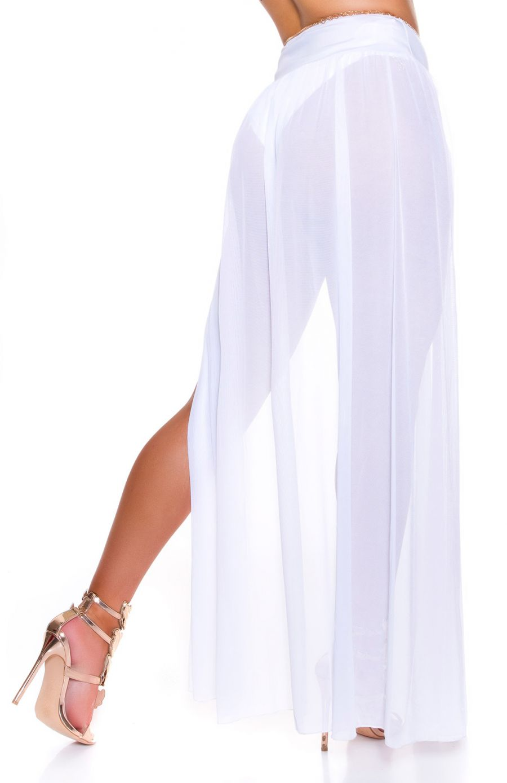 Sexy Koucla tulle maxi beach skirt