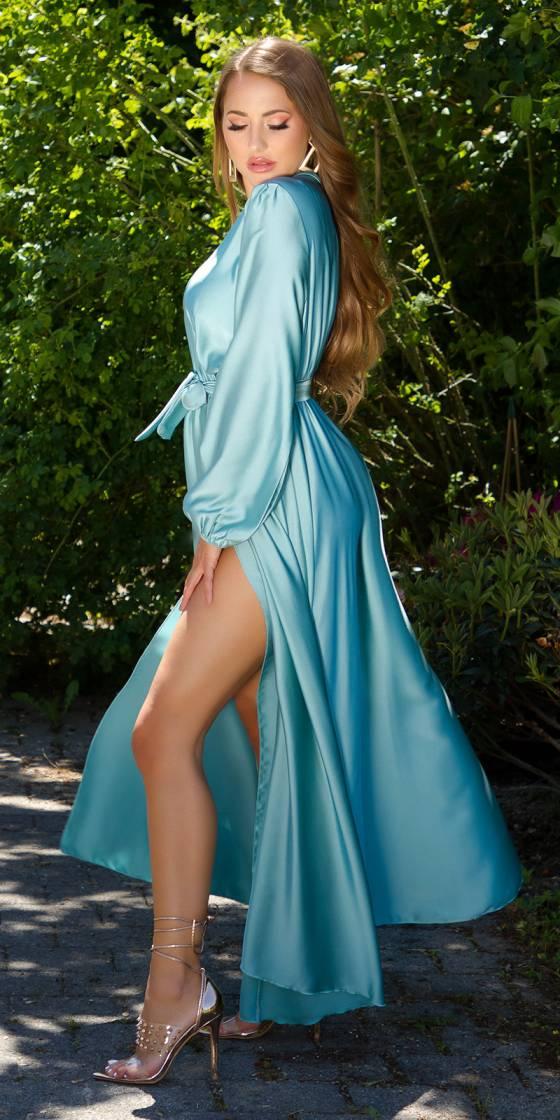 Sexy Satin Maxi Dress...