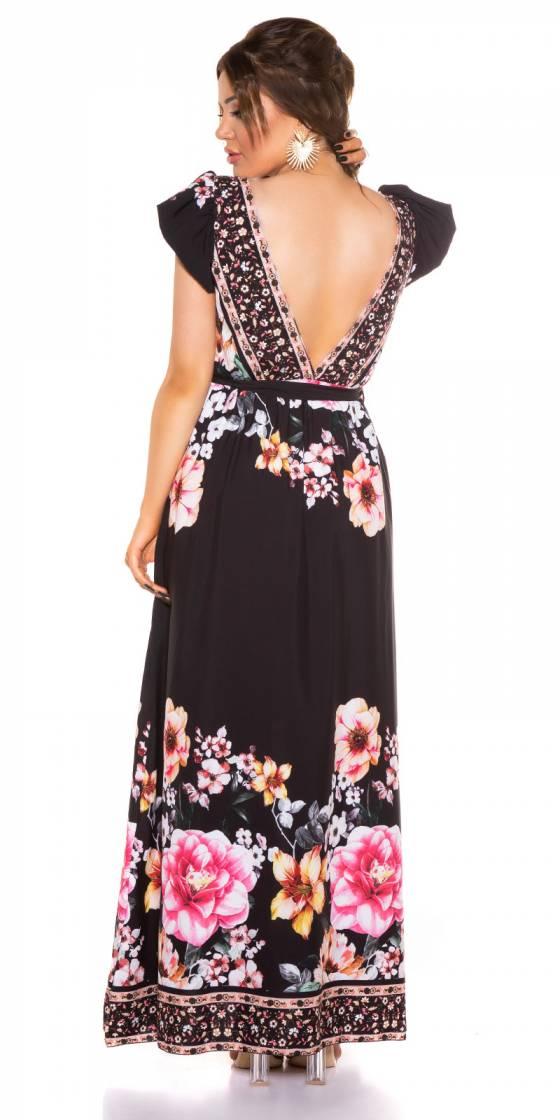 Short sexy glamour CAMILIA couleur noir