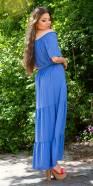 Sexy Off-Shoulder Summer Maxi Dress