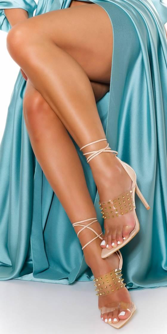Sexy Transparent High Heels...