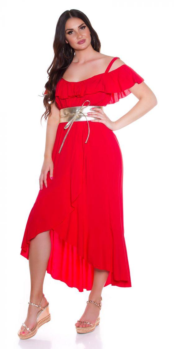 Maxi robe d'été fashion look portefeuille