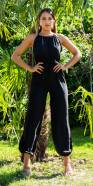Sexy Summer Jumpsuit with Belt