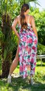 Sexy Summer Jumpsuit with Skirt 2in1