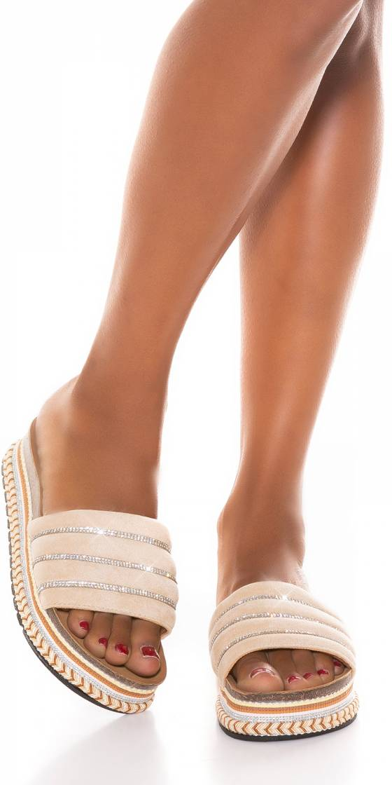 Sexy Plateau Mules with...