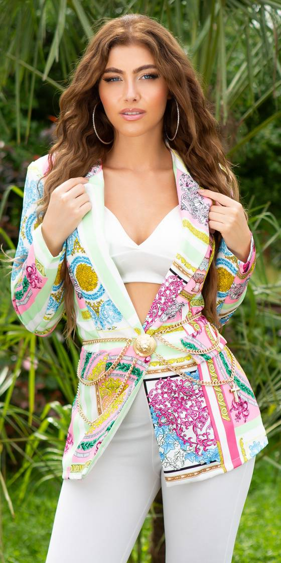 Sexy Fashion Blazer with...